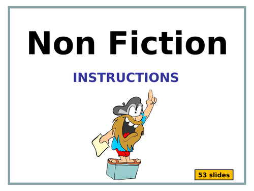 Writing to Instruct -  5 presentations