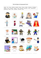 Occupations (Jobs) - A Printable Worksheet by sxcapx - Teaching ...