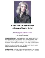 Sir Isaac Newton: A Readers Theater Script