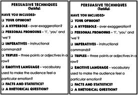 Lesson 17 Imaginative Writing: Room 101 Persuasive