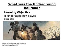Slavery - The Underground Railroad