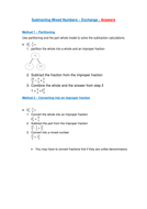 Subtracting-Mixed-Numbers---Exchange---Answers.pdf