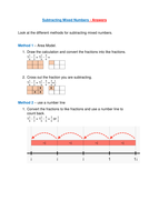 Subtracting-Mixed-Numbers---Answers.pdf