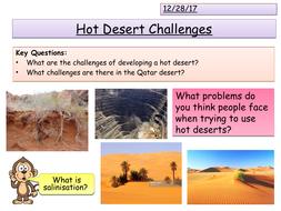 Challenges of Deserts - Qatar