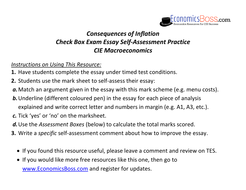 consequences of inflation deliberate practice essay exam  as macro 4b sadp2 ev inflation