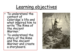 Rime of the ancient Mariner Ks3 by kesithana - Teaching Resources ...