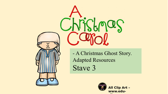 A Christmas Carol - Adapted - literacy activity bundle | Teaching Resources