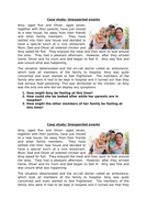 Unit 10 Caring for Children and Young People- Family related reasons
