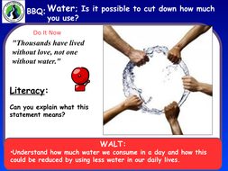 KS3 - Energy unit - L10 water supplies - fully resourced