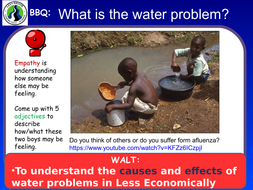KS3 - Energy unit - L12 the water problem - fully resourced