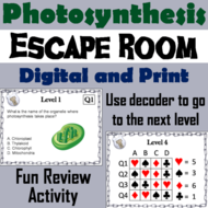 Photosynthesis: Science Escape Room