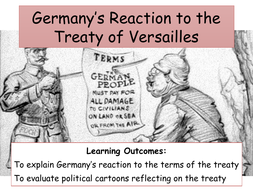 how did germany react to the treaty of versailles by lwallett teaching resources tes. Black Bedroom Furniture Sets. Home Design Ideas