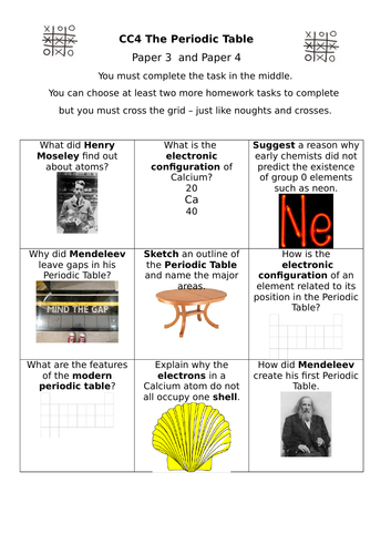 gcse combined science chemistry homework sheets by jglo teaching resources tes