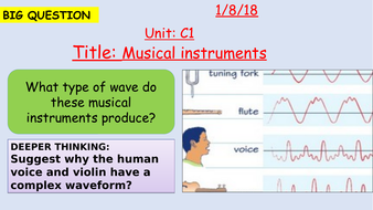 Pearson BTEC New specification-Applied science-Unit 1-Musical instruments-C1