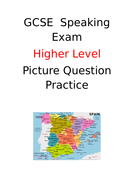GCSE Spanish Higher Speaking - Picture questions