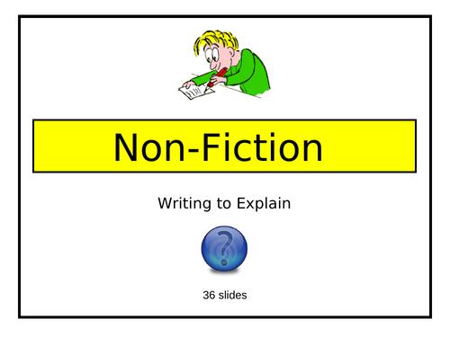 Writing to Explain