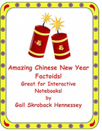 Chinese New Year 2019 Fun Facts(Interactive Notebook Activity)