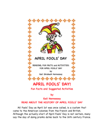 April Fools' Day! Reading Passage and More