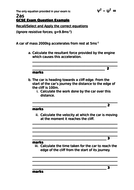 gcse 9 1 acceleration formula practice by chipchatwin teaching