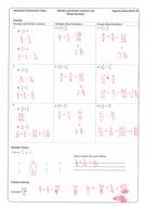 Homework help mixed fractions