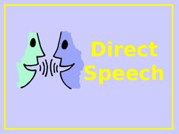 Speech Marks - Direct Speech