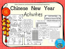 free ks1 chinese new year activities by hoppytimes teaching resources. Black Bedroom Furniture Sets. Home Design Ideas