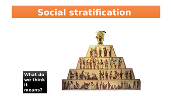 introduction to social stratification by scrummy92 teaching