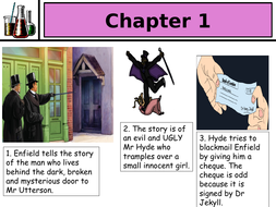 Jekyll and Hyde picture book