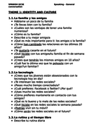 Spanish GCSE Speaking - General conversation questions