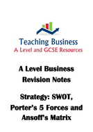 A-Level-Revision-Notes-(Strategic-Analysis--SWOT--Porter's-Five-Force-Model-and-the-Ansoff-Matrix).pdf