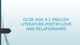 GCSE-9-1-POETRYMother--any-distance.pptx