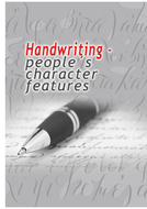 Handwriting - people´s character features