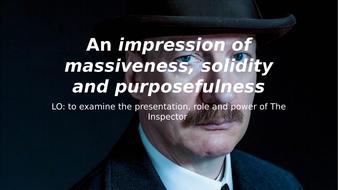 Teach Act 1 of An INspector Calls