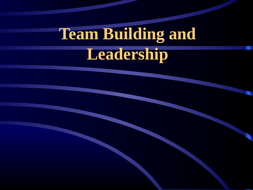 p e team building and leadership powerpoint by hartley1990