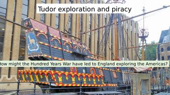 Tudor exploration (designed for AQA GCSE migration, empire & peoples)