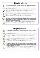 KS2 SATs- Teaching of Reading - Boy in Striped Pyjamas - Chapter 11