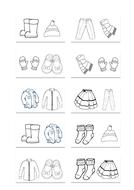 Gaelic Clothes Dominoes
