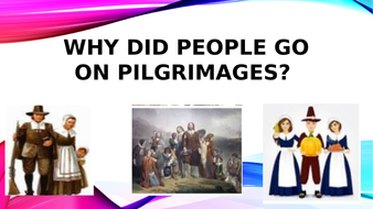This resource  explains why people goon pilgrimages in the Medieval Period.