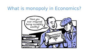 This resource explains Monopoly and Perfect Market  in Economics