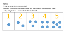 number correspondence number recognition 1 10 introduction to