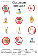 Imperatives and Classroom rules for EAL students