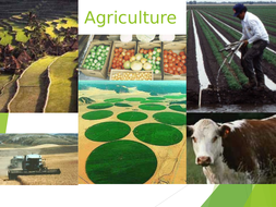 This resource explains farming methods and agricultural system.