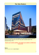 Tate Modern trip activity pack