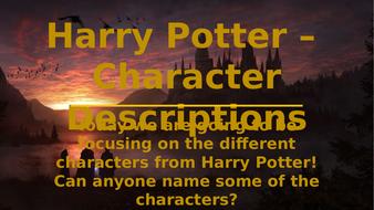 Harry-Potter---Character-descriptions.pptx