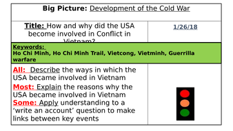 AQA 8145 - Conflict and Tension Cold War 1945-72: Vietnam War