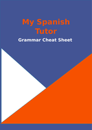 Spanish Grammar Cheat Sheet