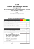 Unit-2-Section-C-The-Challenge-of-Resource-Management----Specification-Checklist-.docx
