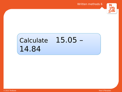 Year 5: Column Multiplication and Questions