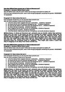 'Dulce et Decorum Est' Worksheet and Essay Plan