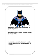 Batman Capital Letters